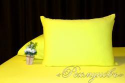Купить желтые трикотажные наволочки на молнии в Брянске