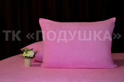 Купить розовые махровые наволочки на молнии в Брянске