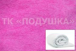Купить розовый махровый пододеяльник  ТМ Подушка в Брянске
